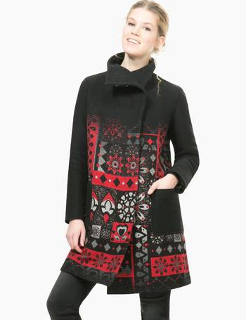 Sportschuhe stabile Qualität High Fashion Shop Women's Desigual Coats up to 50% Off | DealDoodle