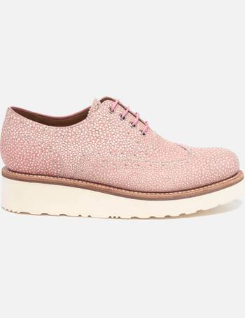 c234a6c485d Grenson. Women s Emily Stingray Leather Brogues