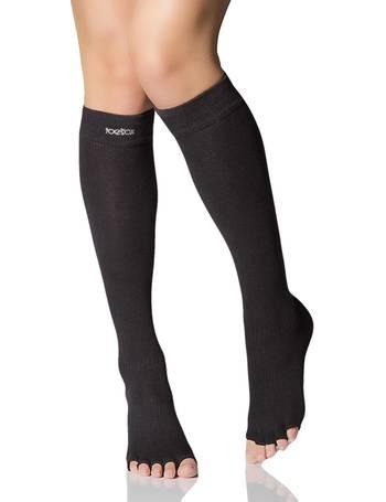 Ladies 1 Pair Elle Organic Cotton Knee High Socks