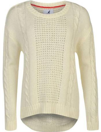 6a7a32d939 Shop Women s Sports Direct Cable Knit Jumpers up to 80% Off