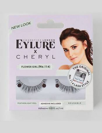 398903e90df Eylure Cheryl Flower Girl False Eyelashes New Look from New Look