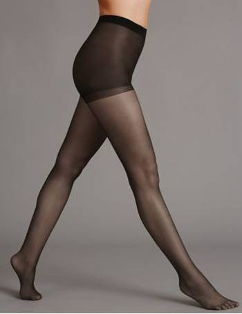 c429584e4 7 Denier Cool Comfort Ladder Resist Bare Cooling Tights from Marks   Spencer