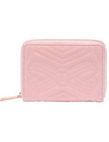 d54b8ae32423d9 Ted Baker. Romma Quilted Bow Small Leather Purse. from House Of Fraser