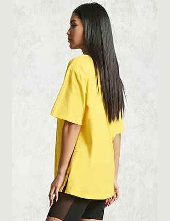 855a29510 Shop Forever 21 Women's Oversized T-shirts up to 80% Off | DealDoodle