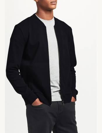 ad3562946 Cotton Jersey Bomber Jacket