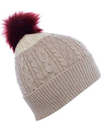 e00fe1cbaf951 Dents Womens Moon Fabric Baker Boy Cap. from House Of Fraser. £32.00.  Contrast knitted hat from House Of Fraser