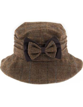 d1f79a7eaa8e1 Dents Womens Moon Fabric & Wax Hat from House Of Fraser