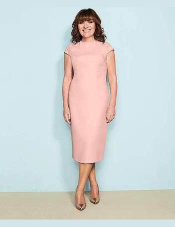 Womens Lorraine Kelly Mesh Detail Prom Dress