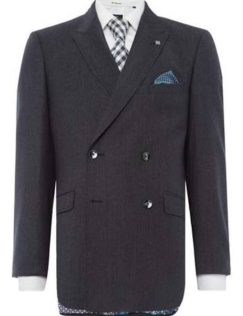 db7b5b6e39853b Men s Ted Baker Double Breasted Dione Texture Suit Jacket from House Of  Fraser