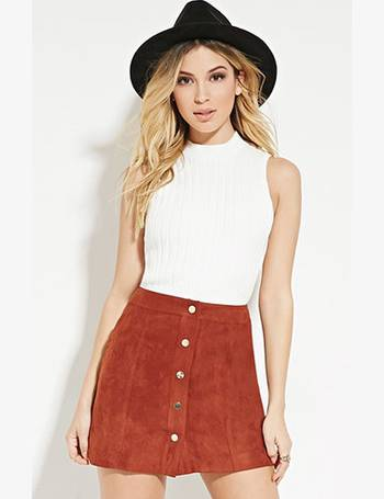 9c8b46d10 Shop Women's Forever 21 Suede Skirts up to 80% Off | DealDoodle