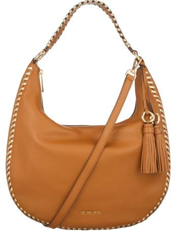 3a0911b9a07 Shop Women's Michael Kors Leather Shoulder Bags up to 50% Off ...