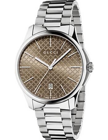 f747105fa11 Gucci. YA126317 Men s G Timeless Stainless Steel Bracelet Strap Watch