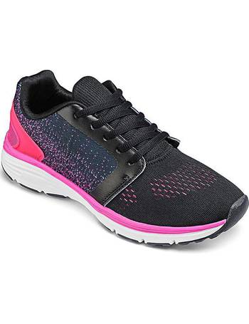 Womens Capsule Active Cross Strap Trainers