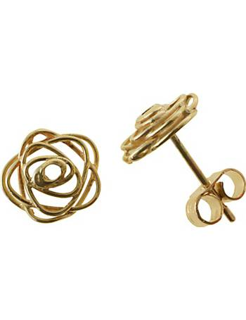 6515fbbed Shop Women's Nina B Gold Earrings up to 20% Off   DealDoodle