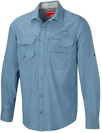 Craghoppers Mens Westlake Short-Sleeved Shirt