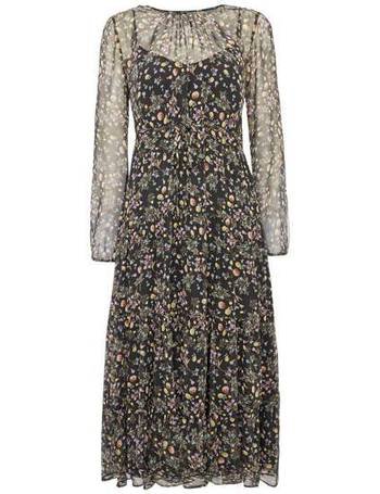 fc577ad930 Max Mara. CERTO 3/4 sleeve silk floral print midi dress. from House Of  Fraser