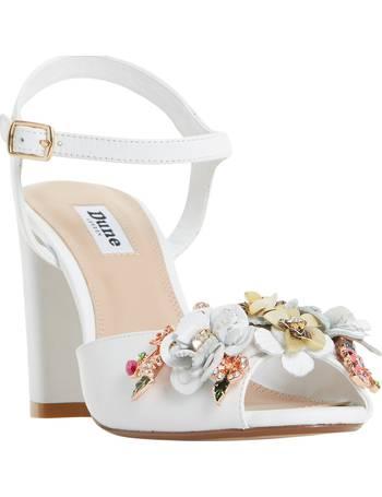 b163aa4bf60 Mackaya Flower Garden Block Heeled Sandals from John Lewis