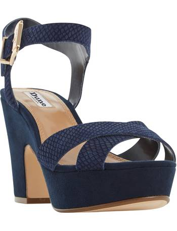 8e846afa71a4 Iyla Block Heeled Cross Strap Platform Sandals from John Lewis