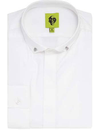 8505afd4f Men s Noose and Monkey Orwell textured shirt from House Of Fraser