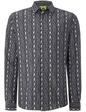 bc5f20f3f Men s Noose and Monkey Snake Skin Print Shirt from House Of Fraser