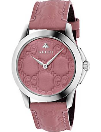 d82a63bd4b7 Gucci. YA1264030 Unisex G-Timeless Signature Leather Strap Watch