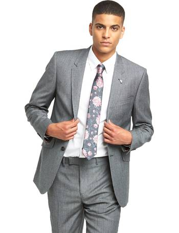 e0207a55ccac75 ted baker charcoal zemla sovereign windowpane suit trouser authentic ...