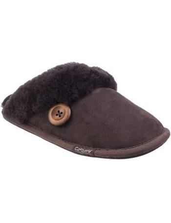 4392085dce6 Cotswold. Lechlade Ladies Sheepskin Mule Slippers