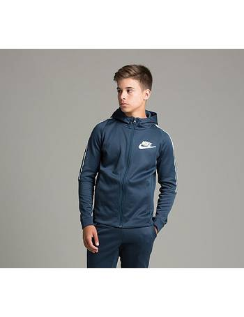 Nike. Junior Tribute Hooded Track Top. from Footasylum 4f978248f0a7