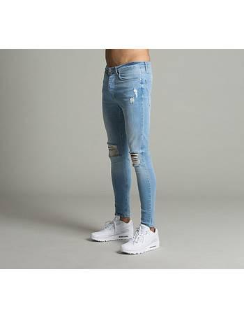 Fox Hipster Ripped Denim Jeans from Footasylum 7b697f912f93