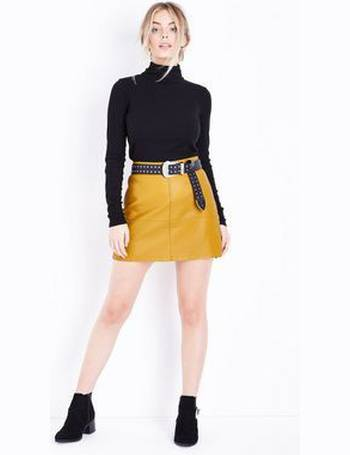 71e77ceba Shop Women's New Look Leather Skirts up to 80% Off | DealDoodle