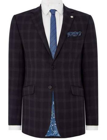 5bfca4f8f645d5 Men s Ted Baker Check Timeless Suit Jacket from House Of Fraser