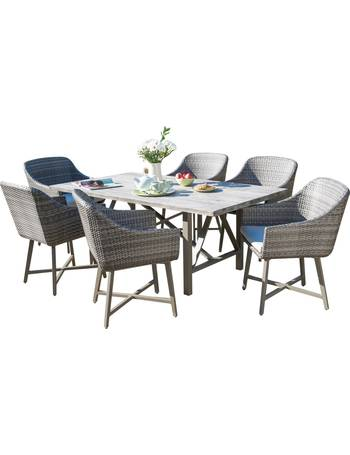 00df3749d848 Kettler. LaMode 6 Seater Garden Dining Table and Chairs Set