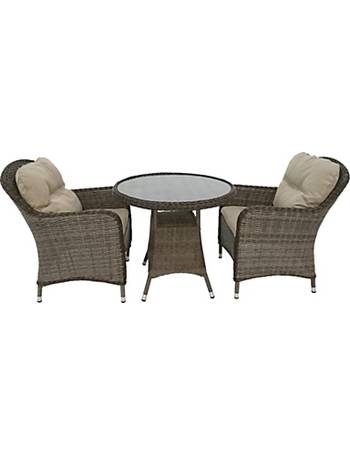 68c72f7b768d LG Outdoor. Marseille 2 Seater Garden Bistro Table and Chairs Set