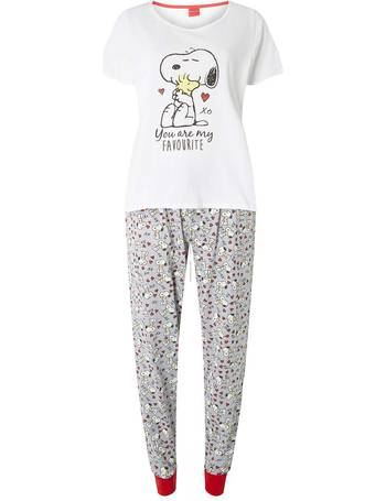 2d31d2bf10e9 Womens Snoopy Pyjama Set- Multi Colour from Dorothy Perkins