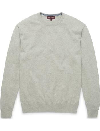 Brook Taverner Hommes Chailey Donkey laine d/'agneau ras-du-cou Pulls Knitwear