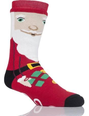 Kids 1 Pair SockShop Christmas Pudding Slipper Socks
