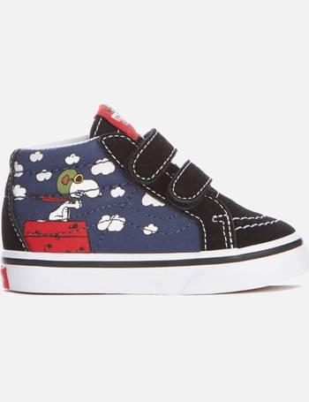 47361c8c7c Vans. X Peanuts Toddlers  Sk8 Mid ...