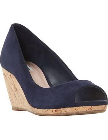 b1f853cc026 Dune. Caydence Peep Toe Wedge Heel Sandals. from John Lewis