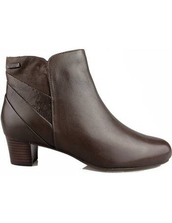 14013714cf0 CHERITH women s Low Ankle Boots in Brown from Spartoo