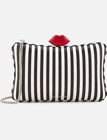 45bb5601cc988 Lulu Guinness. Women s Lavinia Stripe Leather Clutch Bag