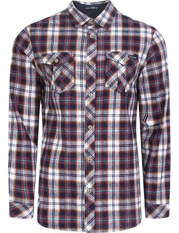 7f7e95b226 Cotton Flannel Checked Shirt in Cardinal Red – Tokyo Laundry from Tokyo  Laundry