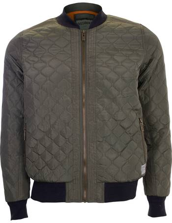 c2a6e57c3a1 Men s Dissident Rodney Bomber Jacket in Green from Tokyo Laundry