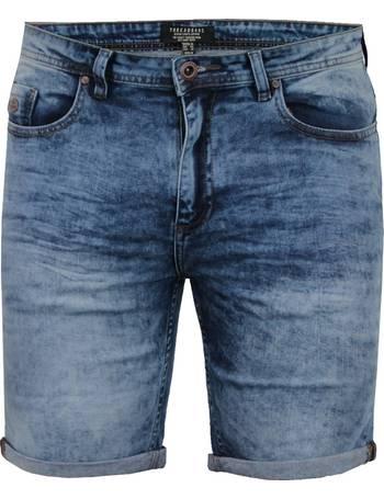 1c54e001ce Leon Turn Up Acid Wash Denim Shorts from Tokyo Laundry
