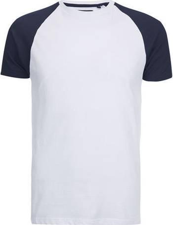 db18bb3575d Baptist Raglan Sleeve Baseball T-Shirt from Tokyo Laundry