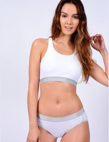 Ava Sports Bra and Briefs Set in Optic White – Tokyo Laundry from Tokyo e2b483c0e