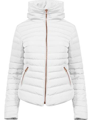 235e332ea60 Honey 2 Funnel Neck Quilted Jacket from Tokyo Laundry