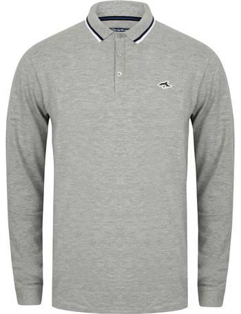 f56c8363170 Kilburn Long Sleeve Polo Shirt in Light Grey Marl – Le Shark from Tokyo