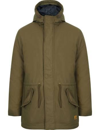 86c163eb19bb Hammersmith Hooded Parka Jacket in Amazon Khaki – Tokyo Laundry from Tokyo  Laundry
