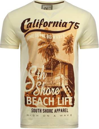 25a7917f86eb South Shore Cali 75 printed cotton t-shirt from Tokyo Laundry
