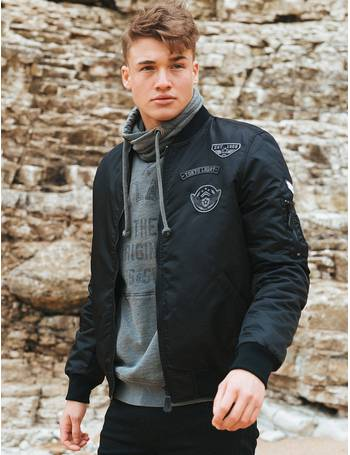 ba3ce9d4c6e Amalfi Bomber Jacket with Flight Patches from Tokyo Laundry